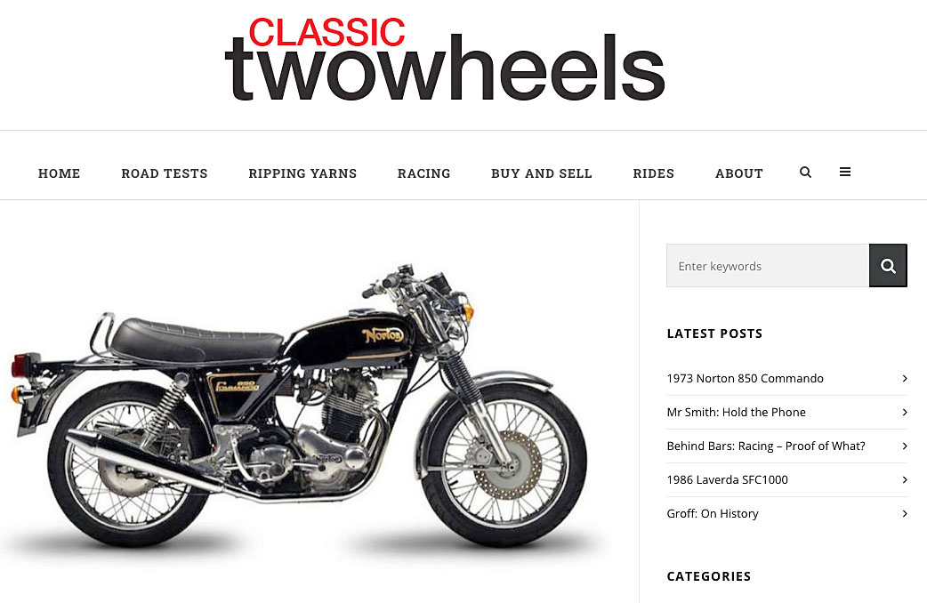 classic two wheels