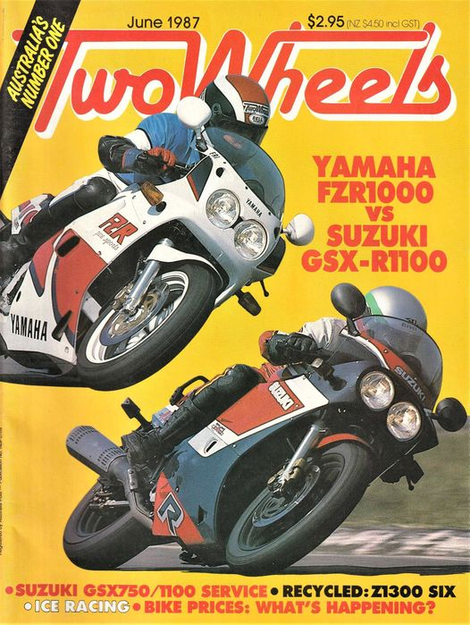 two wheels mag june 1987